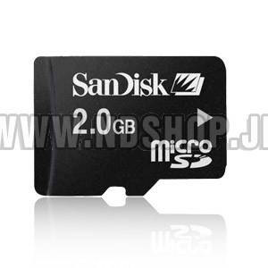 Sandisk Micro SD 2GB