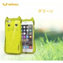 可愛い猫ちゃんクリアTPUケースfor iphone5/6s/6splus/ samsung note5/s6/s6 edge